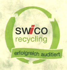 Logo swico recycling, erfolgreich auditiert